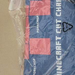 ThinkGeek Shirts & Tops - Boys Minecraft Porkchop Cut chart Light Blue shirt